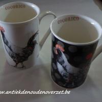 "Beker/mug ""Cocorico"", haan"