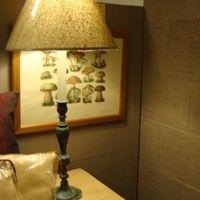 Tafellamp klassiek groenbrons