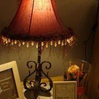 Tafellamp klassiek smeedijzer voet