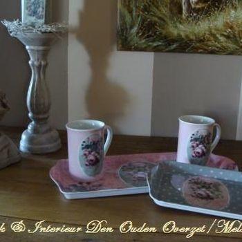 """Mug/beker """"Mille Roses de Paris"""""""