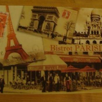 """Placemat """"Bistrot Parisien"""""""