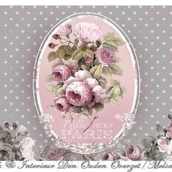 """Placemat """"Mille Roses de Paris"""""""