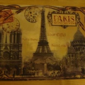 "Placemat ""Paris Monuments"""