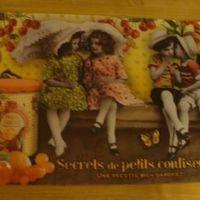 """Placemat """"Secrets de Petits Confiseurs"""""""