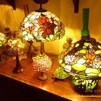 Een eigenwijze en betaalbare tiffanylamp ?  Kom een kijkje nemen bij Landelijk Interieur & Antiek Den Ouden Overzet te Melsele