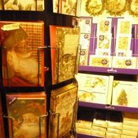 Originele kerstkaarten en de collecties van Marjolein Bastin kan je terugvinden bij Landelijk Interieur & Antiek Den Ouden Overzet te Melsele