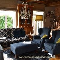 Bankstellen en fauteuils Leda, Antiek & Interieur Den Ouden Overzet, Melsele