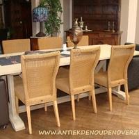 Maatwerk tafels en Loom stoelen by Antiek & Interieur Den Ouden Overzet, Melsele