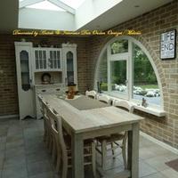 Landelijke veranda of orangerie, Antiek & Interieur Den Ouden Overzet, Melsele